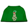 Mirage Pet Products Lazy Elf Screen Print Pet Shirt Emerald Green XXXL (20)