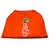 Mirage Pet Products Lazy Elf Screen Print Pet Shirt Orange Med (12)
