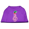 Mirage Pet Products Lazy Elf Screen Print Pet Shirt Purple Sm (10)