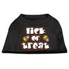 Mirage Pet Products Lick Or Treat Screen Print Shirts Black XXL (18)