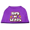 Mirage Pet Products Lick Or Treat Screen Print Shirts Purple M (12)
