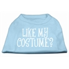 Mirage Pet Products Like my costume? Screen Print Shirt Baby Blue XS (8)