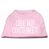Mirage Pet Products Like my costume? Screen Print Shirt Light Pink XS (8)