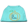 Mirage Pet Products Lil Punkin Screen Print Dog Shirt Aqua XXXL (20)