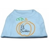 Mirage Pet Products Lil Punkin Screen Print Dog Shirt Baby Blue XXL (18)