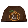 Mirage Pet Products Lil Punkin Screen Print Dog Shirt Brown XS (8)