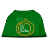 Mirage Pet Products Lil Punkin Screen Print Dog Shirt Green XS (8)