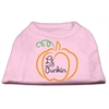 Mirage Pet Products Lil Punkin Screen Print Dog Shirt Light Pink XXL (18)