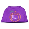 Mirage Pet Products Lil Punkin Screen Print Dog Shirt Purple XS (8)