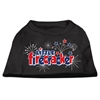 Mirage Pet Products Little Firecracker Screen Print Shirts Black XXXL(20)