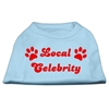 Mirage Pet Products Local Celebrity Screen Print Shirts Baby Blue XS (8)