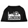Mirage Pet Products London Skyline Screen Print Shirt Black XXL (18)