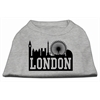 Mirage Pet Products London Skyline Screen Print Shirt Grey XS (8)