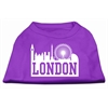Mirage Pet Products London Skyline Screen Print Shirt Purple XS (8)