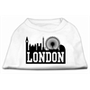 Mirage Pet Products London Skyline Screen Print Shirt White Sm (10)