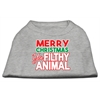 Mirage Pet Products Ya Filthy Animal Screen Print Pet Shirt Grey XXXL (20)