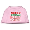 Mirage Pet Products Ya Filthy Animal Screen Print Pet Shirt Light Pink XXXL (20)