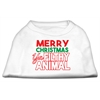 Mirage Pet Products Ya Filthy Animal Screen Print Pet Shirt White Sm (10)