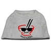 Mirage Pet Products Miso Cool Screen Print Shirts Grey XS (8)