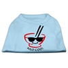 Mirage Pet Products Miso Cool Screen Print Shirts Baby Blue Med (12)