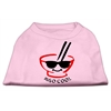 Mirage Pet Products Miso Cool Screen Print Shirts Pink XS (8)