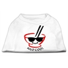 Mirage Pet Products Miso Cool Screen Print Shirts White XL (16)
