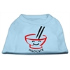 Mirage Pet Products Miso Cute Screen Print Shirts Baby Blue XS (8)