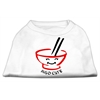 Mirage Pet Products Miso Cute Screen Print Shirts White Sm (10)