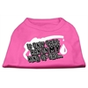 Mirage Pet Products My Kind of Gas Screen Print Shirts   Bright Pink XL (16)
