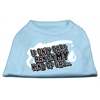 Mirage Pet Products My Kind of Gas Screen Print Shirts   Baby Blue XS (8)