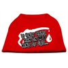 Mirage Pet Products My Kind of Gas Screen Print Shirts   Red XL (16)