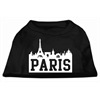 Mirage Pet Products Paris Skyline Screen Print Shirt Black XXXL (20)