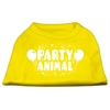 Mirage Pet Products Party Animal Screen Print Shirt Yellow XS (8)