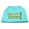 Mirage Pet Products Pog Mo Thoin Screen Print Shirt Aqua Med (12)