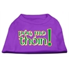 Mirage Pet Products Pog Mo Thoin Screen Print Shirt Purple XXXL (20)