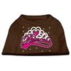 Mirage Pet Products I'm a Princess Screen Print Shirts Brown Lg (14)