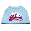 Mirage Pet Products I'm a Princess Screen Print Shirts Baby Blue XS (8)