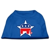 Mirage Pet Products Republican Screen Print Shirts Blue Med (12)