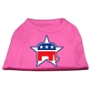 Mirage Pet Products Republican Screen Print Shirts  Bright Pink XXL (18)