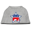 Mirage Pet Products Republican Screen Print Shirts  Grey XS (8)