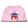 Mirage Pet Products Republican Screen Print Shirts  Light Pink XS (8)