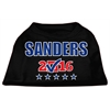 Mirage Pet Products Sanders Checkbox Election Screenprint Shirts Black XS (8)
