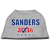 Mirage Pet Products Sanders Checkbox Election Screenprint Shirts Grey XS (8)