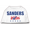 Mirage Pet Products Sanders Checkbox Election Screenprint Shirts White XL (16)