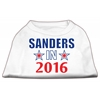 Mirage Pet Products Sanders in 2016 Election Screenprint Shirts White XXXL (20)