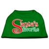 Mirage Pet Products Santas Favorite Screen Print Pet Shirt Emerald Green Sm (10)