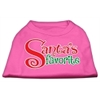 Mirage Pet Products Santas Favorite Screen Print Pet Shirt Bright Pink XXXL (20)