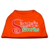 Mirage Pet Products Santas Favorite Screen Print Pet Shirt Orange Lg (14)