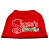 Mirage Pet Products Santas Favorite Screen Print Pet Shirt Red XL (16)