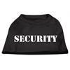 Mirage Pet Products Security Screen Print Shirts Black  w/ white text Sm (10)